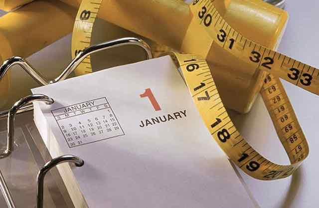 1 januari goede voornemens